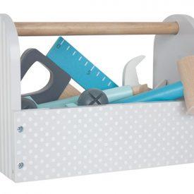JaBaDaBaDo Tool Box Wooden Toy in Grey