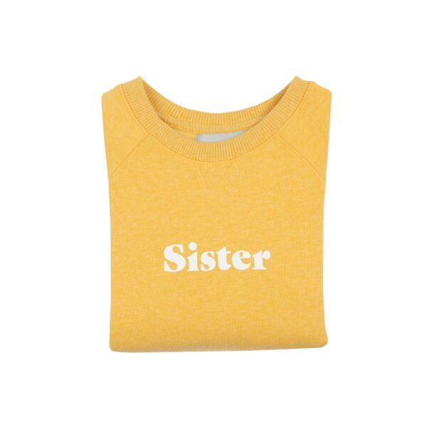 sister_jumper_yellow_bobandblossom_slogan_white